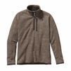 Patagonia Mens Better Sweater 1/4 Zip Fleece Pale Khaki (Close Out)
