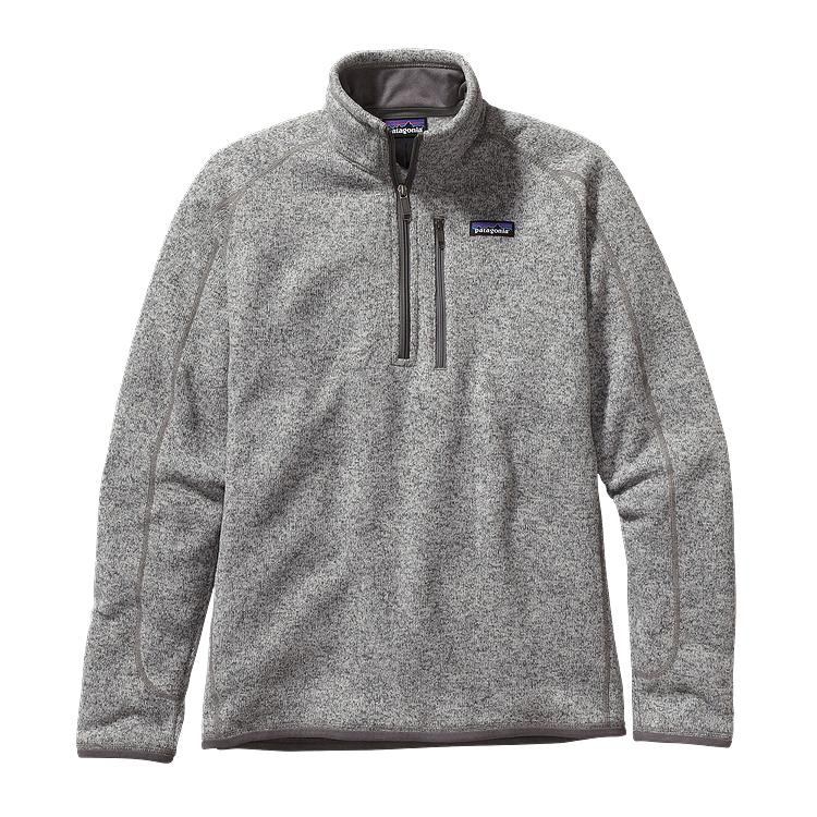 Patagonia Mens Better Sweater 14 Zip Fleece Stonewash