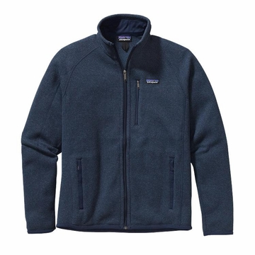 Patagonia Mens Better Sweater Fleece Jacket Classic Navy (Close Out)