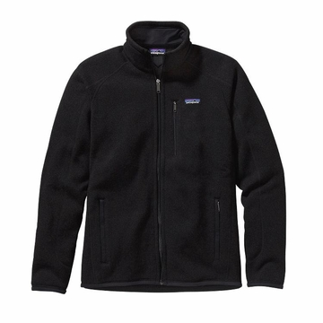 Patagonia Mens Better Sweater Fleece Jacket Black (Close Out)