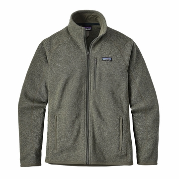 Patagonia Mens Better Sweater Fleece Jacket Industrial Green