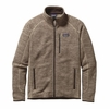Patagonia Mens Better Sweater Fleece Jacket Pale Khaki