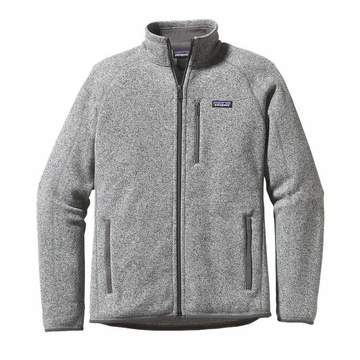 Patagonia Mens Better Sweater Fleece Jacket Stonewash