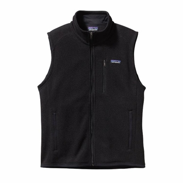 Patagonia Mens Better Sweater Fleece Vest Black