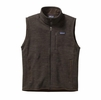 Patagonia Mens Better Sweater Fleece Vest Dark Walnut (Close Out)