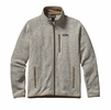 Patagonia Mens Better Sweater Jacket Bleached Stone