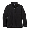 Patagonia Mens Better Sweater 1/4 Zip Fleece Black (Close Out)