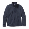 Patagonia Mens Better Sweater 1/4 Zip Fleece Classic Navy