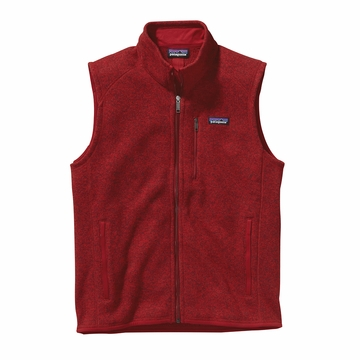 Patagonia Mens Better Sweater Vest Classic Red