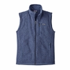 Patagonia Mens Better Sweater Vest Dolomite Blue