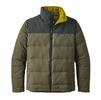 Patagonia Mens Bivy Down Jacket Industrial Green