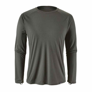 Patagonia Mens Capilene Lightweight Crew Forge Grey