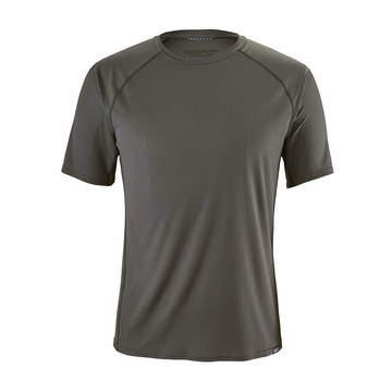 Patagonia Mens Capilene Lightweight T-Shirt Forge Grey