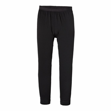 Patagonia Mens Capilene Thermal Weight Bottoms Black