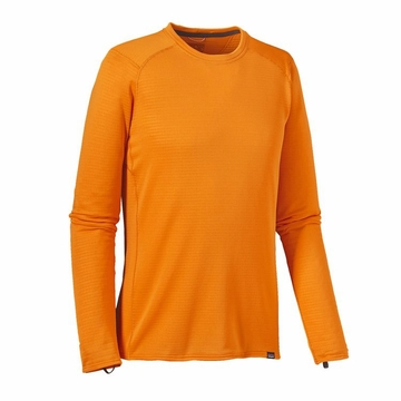 Patagonia Mens Capilene Thermal Weight Crew Sporty Orange