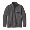 Patagonia Mens Cotton Quilt Snap-T Pullover Forge Grey