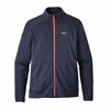 Patagonia Mens Crosstek Fleece Jacket Navy Blue