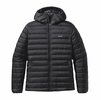 Patagonia Mens Down Sweater Hoody Black