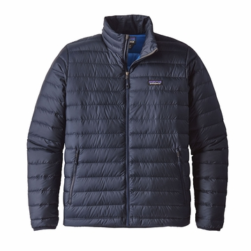 Patagonia Mens Down Sweater Jacket Navy Blue/ Navy Blue