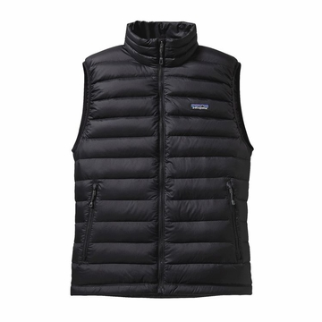 Patagonia Mens Down Sweater Vest Black