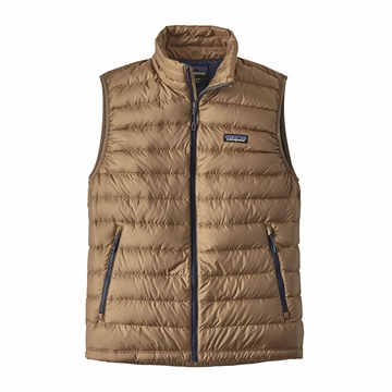 Patagonia Mens Down Sweater Vest Mojave Khaki