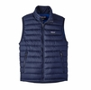 Patagonia Mens Down Sweater Vest Navy Blue w/ Navy Blue