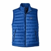 Patagonia Mens Down Sweater Vest Viking Blue