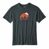 Patagonia Mens Eat Local Upstream Cotton T-Shirt Carbon