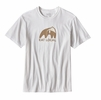 Patagonia Mens Eat Local Upstream Cotton T-Shirt White