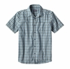 Patagonia Mens Fezzman Regular Fit Costa Small: Big Sur Blue