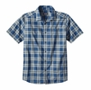Patagonia Mens Fezzman Shirt Underway Big: Glass Blue