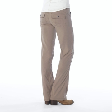 Prana Womens Halle Pant Short Inseam Dark Khaki