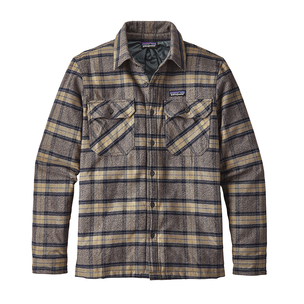 Patagonia Mens Insulated Fjord Flannel Jacket Migration