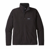 Patagonia Mens Lightweight Better Sweater Marsupial Fleece Pullover Black