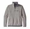 Patagonia Mens Lightweight Better Sweater Marsupial Fleece Pullover Feather Grey  (close out)