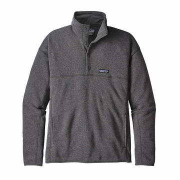 Patagonia Mens Lightweight Better Sweater Marsupial Fleece Pullover Forge Grey  (close out)