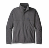 Patagonia Mens Lightweight Better Sweater Marsupial Fleece Pullover Forge Grey