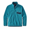 Patagonia Mens Lightweight Synchilla Snap-T Fleece Pullover Filter Blue