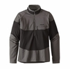 Patagonia Mens Long-Sleeved R1 Field 1/4-Zip Black