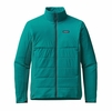 Patagonia Mens Nano-Air Light Hybrid Jacket True Teal Medium