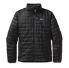 Patagonia Mens Nano Puff Jacket Black