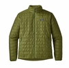 Patagonia Mens Nano Puff Jacket Sprouted Green