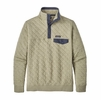 Patagonia Mens Organic Cotton Quilt Snap-T Pullover Shale (Close Out)