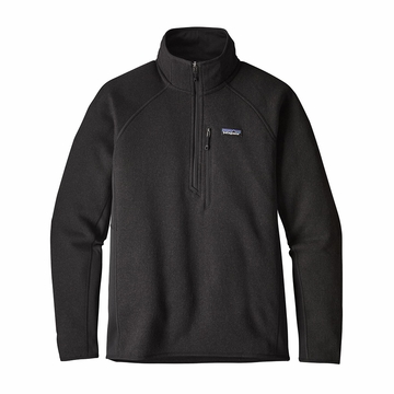 Patagonia Mens Performance Better Sweater Fleece 1/4 Zip Black