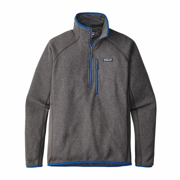 Patagonia Mens Performance Better Sweater Fleece 1/4 Zip Forge Grey