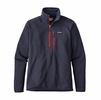 Patagonia Mens Performance Better Sweater Fleece 1/4 Zip Navy Blue