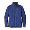 Patagonia Mens Performance Better Sweater Fleece 1/4 Zip Viking Blue
