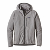 Patagonia Mens Performance Better Sweater Fleece Hoody Feather Grey  (close out)