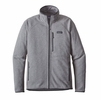 Patagonia Mens Performance Better Sweater Fleece Jacket Feather Grey