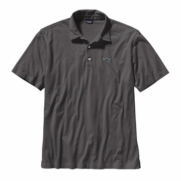 Patagonia Mens Polo Trout Fitz Roy Forge Grey